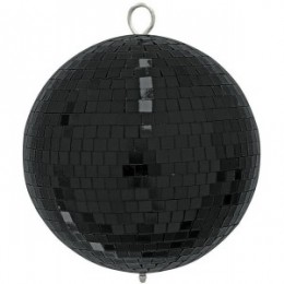 Eurolite Mirror Ball 20 CM Black Зеркальный шар