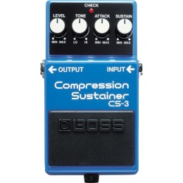 Boss CS-3 Compression Sustainer Педаль для электро и бас гитары
