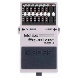 Boss GEB-7 Bass Equalizer Педаль для бас гитары